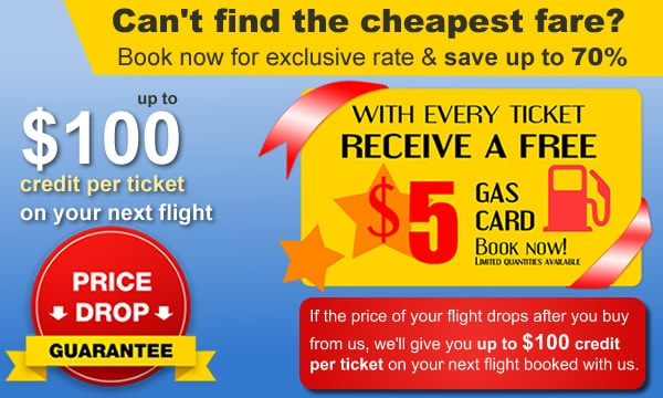 We offer up to CAD 100 Price Drop Guarantee as Future Travel Credit.