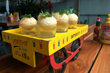 Vodka Pani Puri