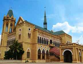 Frere Hall: (1865) | Empress Market (1890)