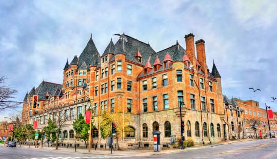Lowest airfares to Montreal