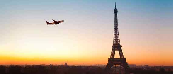 Airlines flying to Paris