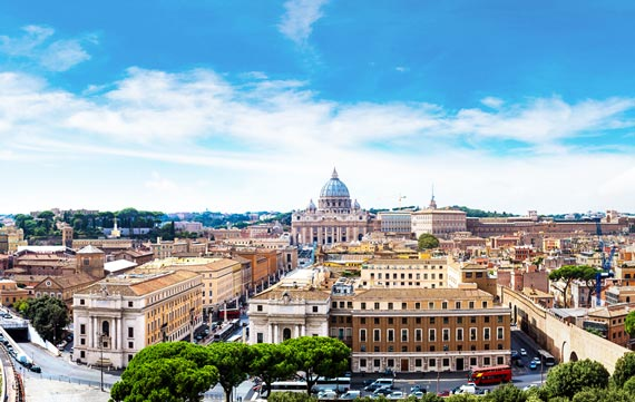 Cheap Flights to Rome (ROM), Italy