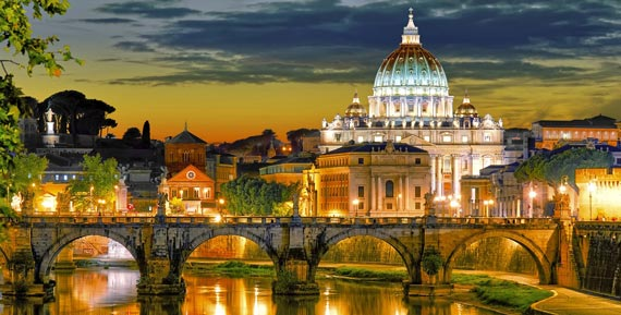 Travel to Rome (ROM), Italy