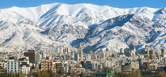 Weather in Tehran