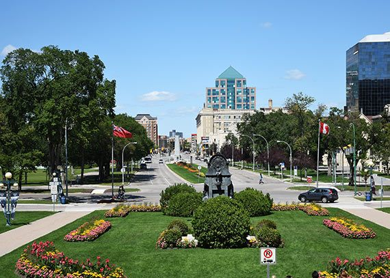 Top shopping malls in Winnipeg, Canada