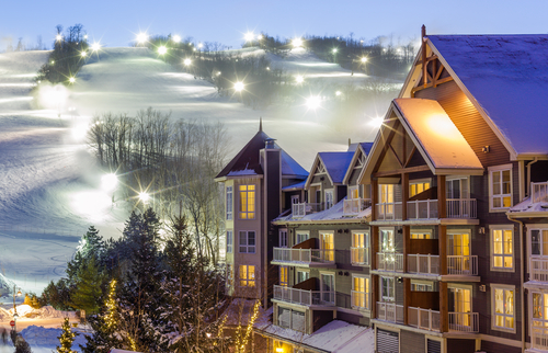 Winter Ski resorts